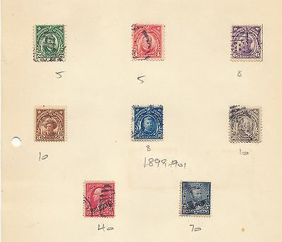 OLD PHILIPINES SELECTION of 17 STAMPS