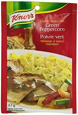 Knorr® Green Peppercorn Classic Sauce  Original package Mix 4 x 42g from QUEBEC