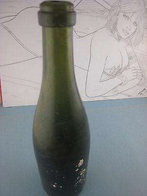 Vintage 1850s ' Wine Bottle '...shipwreck,Florida Coast...# 8