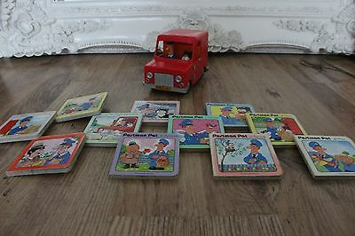 POSTMAN PAT Friction-Moving Van Toy and Book Collection