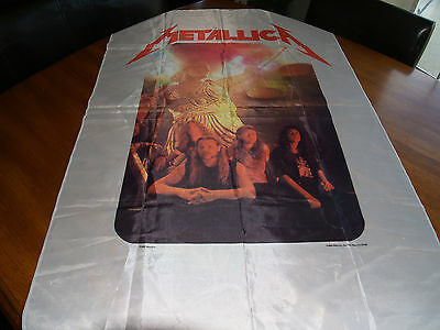 """1989 Metallica """"And Justice..."""" Tapestry  **VTG/No Poster or T-Shirt/Metal/Ex-**"""
