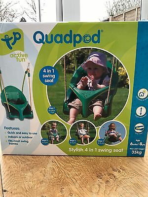 TP toys Quadpod 4 In 1 Baby Swing Seat