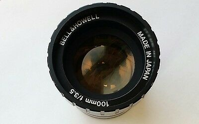 Bell & Howell Made in Japan 100mm f/3.5 Slide Projector Lens Replacement