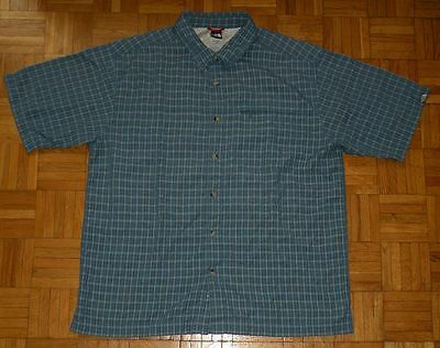 "The North Face Shirt Hemd ""L"" Mens Outdoor Trikot Top Blue"