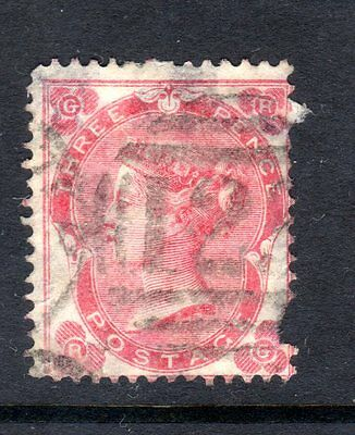 CLASSIC WORLD STAMPS- Victoria 3d red ,1862 (#) United Kingdom