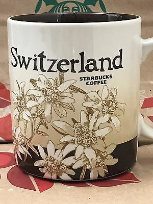 NEW AUTHENTIC Starbucks SWITZERLAND v1 Icon 16 oz mug