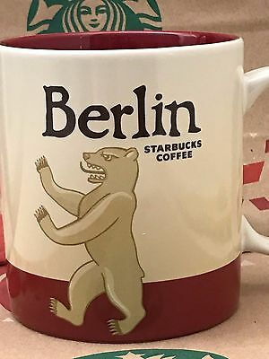 NEW AUTHENTIC Starbucks BERLIN Germany v1 Icon 16 oz mug