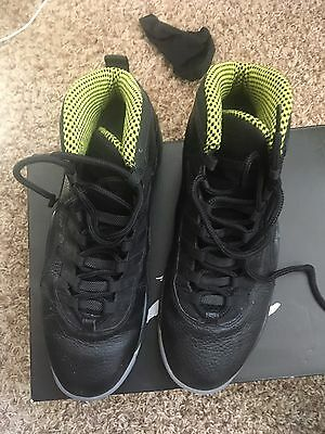 Nike Air Jordan Retro 10 Black Venom Green 310805-033 Men's Size 11.5