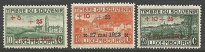 1923 Luxembourg Mounted Mint