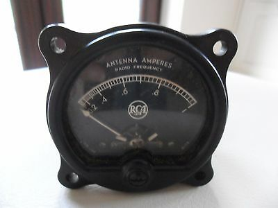 Vintage Collectable Simpson RCA Antenna Amperes Meter Radio Frequency Bakelite