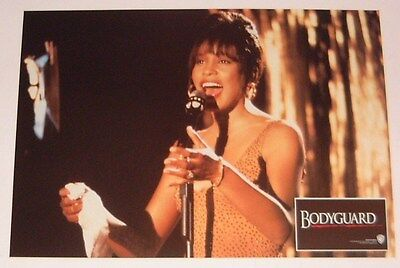 THE BODYGUARD  Lobby Card - Whitney Houston, Kevin Costner #7