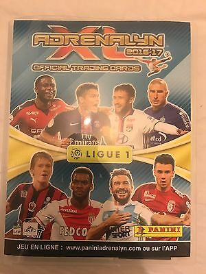 Panini Adrenalyn Xl Ligue 1 2016 / 2017 Complet + 18 Limited + Abc + Bonus Or