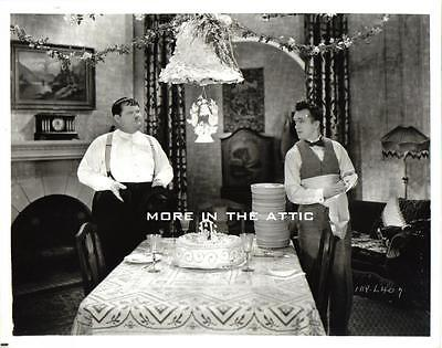 Hal Roach Stan Laurel And & Oliver Hardy Our Wife Film Still #1