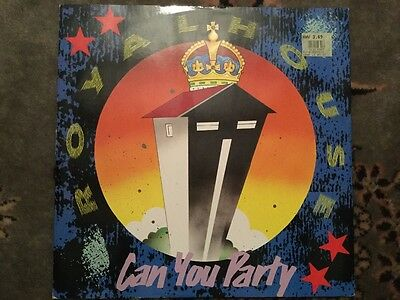 """Royal House - Can You Party  1988 12"""" Vinyl"""