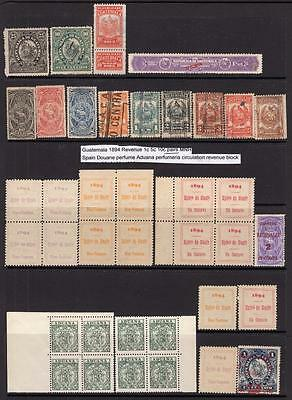 Collection Of Guatemala Revenues / Fiscals