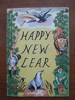 Happy New Lear  (Guiness)  Ills by John Nash
