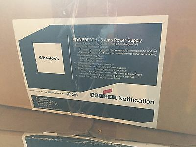 NEW Wheelock PowerPath PS-8 Power Supply / NAC Extender