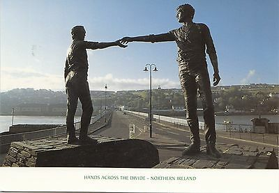 BF30445 northern ireland hands across the divide   front/back image
