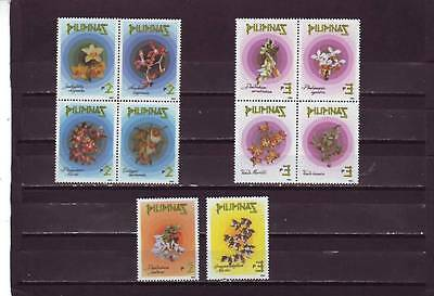 a99 - PHILIPPINES - SG2522-2531 MNH 1993 ORCHIDS