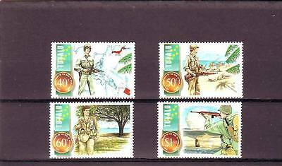 TUVALU - SG740-743 MNH 1995 50th ANNIV END OF WWII