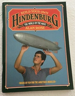 Build Your Own Hindenburg Scale Paper Model Unused Alan Rose1983 Ready to Build