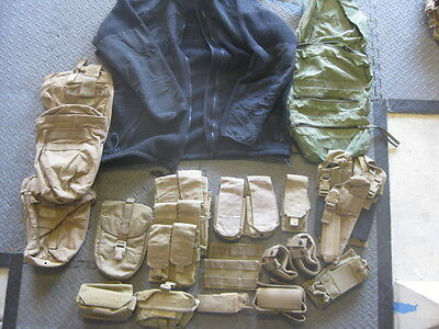 FINAL SALE!!!! HUGE MARSOC SEAL FSBE Gear Lot.  MOLLE pouches and more! RECON