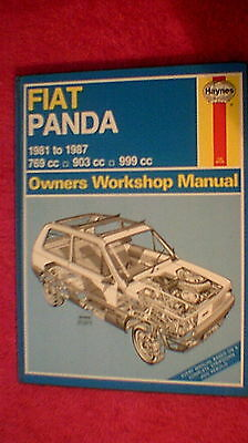 Haynes Owners Workshop Manual - Fiat Panda  1981 - 1987