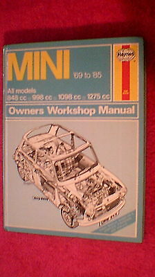 Haynes Owners Workshop Manual - Mini  1969 - 1985
