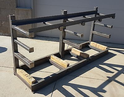 Custom Cantilever Material Rack, Includes 2000lbs of Material