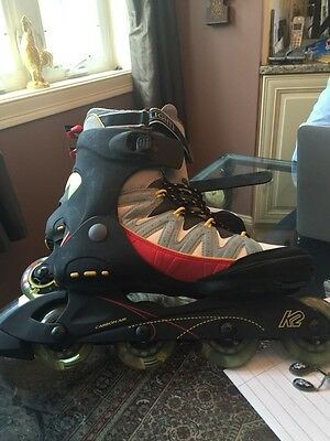 K-2 FLIGHT ALX Inline Hockey Skates: SIZE 12,EUR 46 US L/N