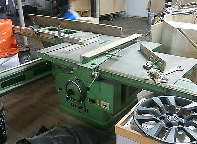 MARTIN INDUSTRIAL SLIDING Table Saw