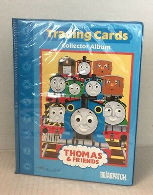 Thomas The Tank Engine Train Trading Cards Book Album with 14 cards