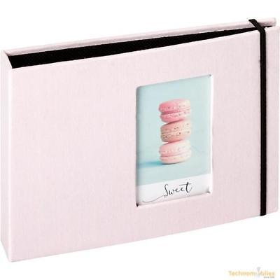 Fujifilm Instax Mini photos 8.5 x 5.5cm 72 Pockets Album Pink