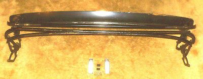 MGB COVERTIBLE TOP FRAME & HEADER RAILwith LATCHES/NO BENDS,CRACKS/1971-80/VyGd+