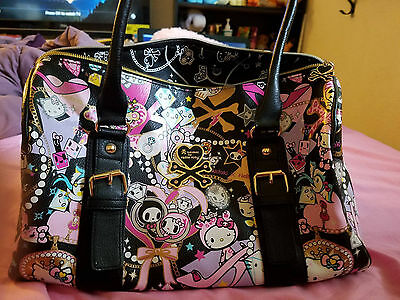 TokiDoki Authentic Discontinued Purse Sanrio Hello Kitty Japan Harajuku