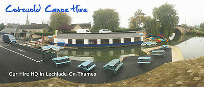 Canoe Hire on The River Thames