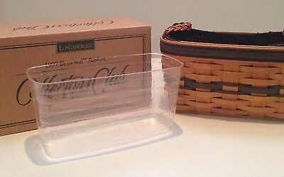 Longaberger Collector's Club 1997 Renewal Basket NIB