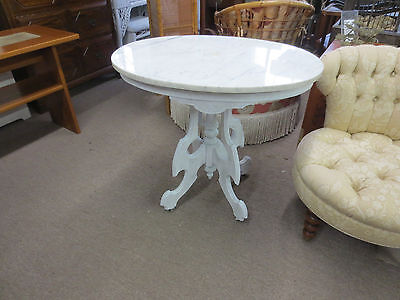 victorian marble top table French country style