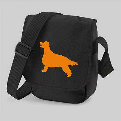 Irish Setter Dog Red Setter Silhouette Messenger Bag Shoulder Bags Xmas Gift