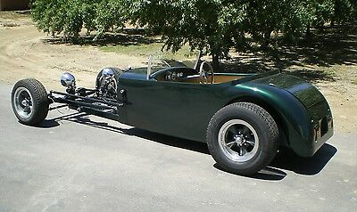 Unfinished Hot Rod Steel Bodied Lowboy Roadster Right Hand Drive