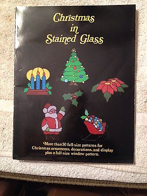 Christmas in stained glass, 50 full sized patterns, Hidden House Publications, 1
