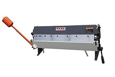 KAKA Industrial W1.5x915z 36-Inch Sheet Metal Pan and Box Brake