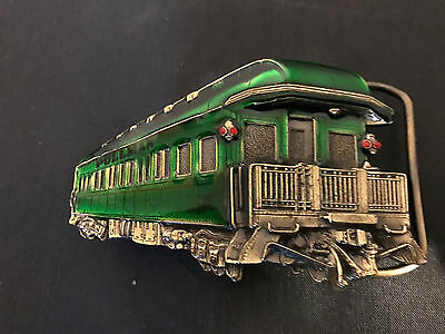 """Great American belt buckle #276 train with """"Pullman"""" on the train-2-17-2017-006"""
