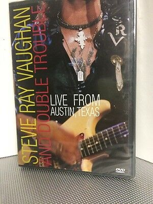 Stevie Ray Vaughan Live From Texas Dvd