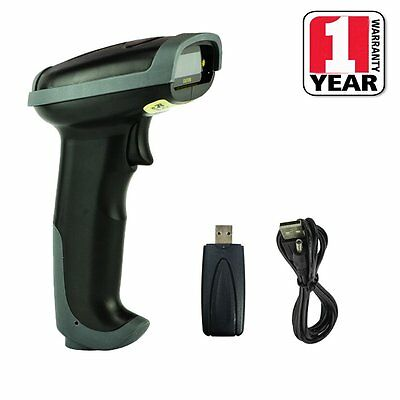 Wireless USB Laser Wifi Handheld Visible Laser POS PC Barcode Scanner Reader