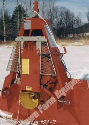 Farmi JL351P Tractor 3-Pt Skidding Winch,Skidder,Logging Winch: 7720lb Capacity!