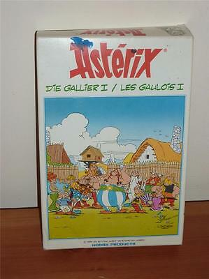 Asterix The Gaul + 5 Figs from Series + Orig Box Hobby Products Metal Figs 1988