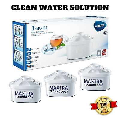 BRITA MAXTRA Water Filter Cartridges System Replacement FIltration Pack of 3