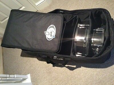 protection racket drum bag for vdrums accessories and stands.