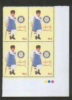 Pakistan Polio Day / Rotary International Issue With Black Colour Missing Error.